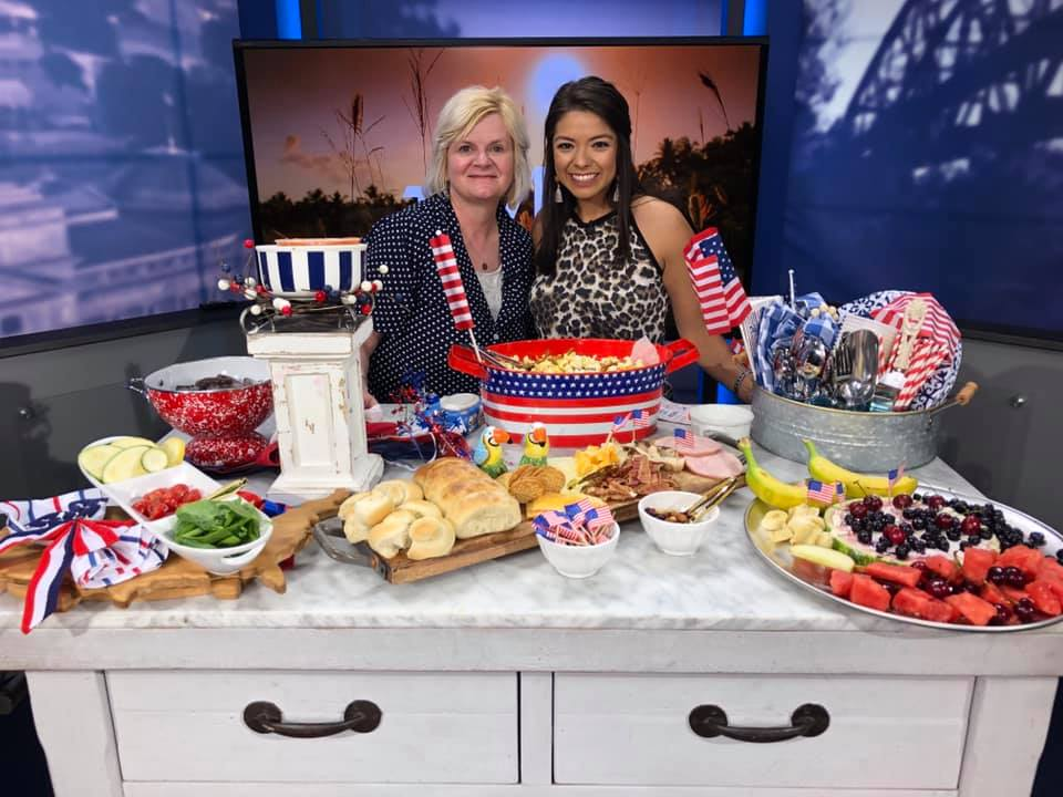 Patriotic Treats, Appetizers & Desserts for the 4th, Sweet Yellow Cornbread, A Southern Lifestyle Blog, Southern Food Blog, Arkansas Lifestyle Blog, Arkansas Food Blogger