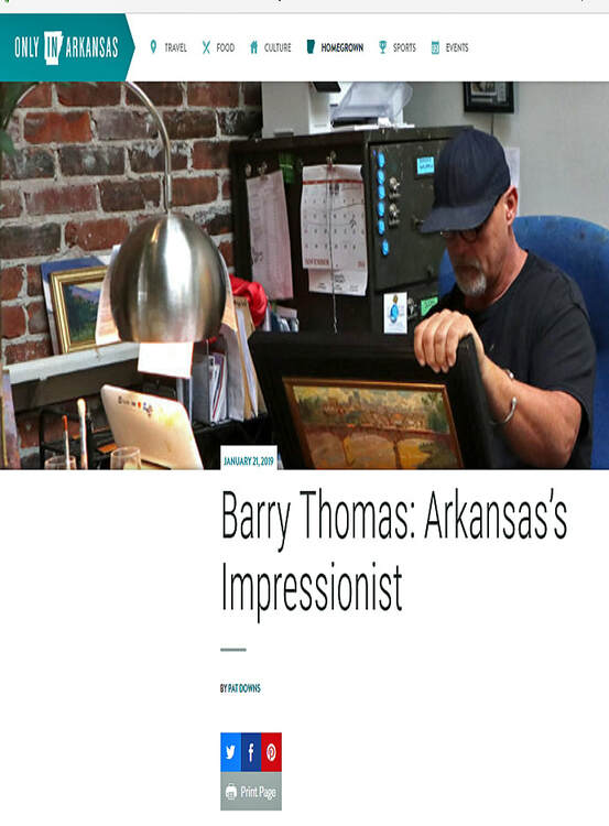 Barry Thomas Impressionist - Only in Arkansas - Pat Downs